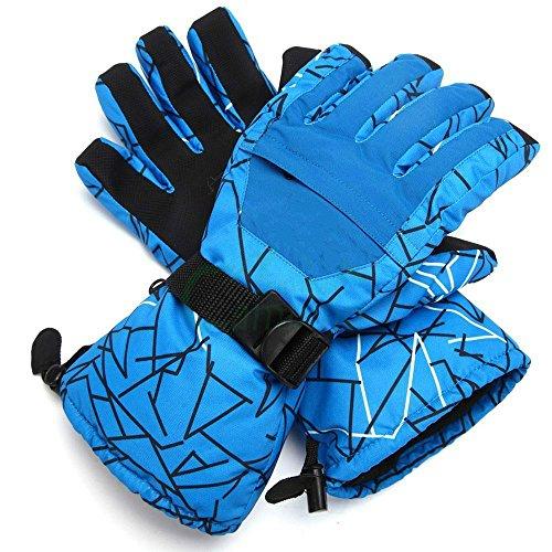 MaxLLTo Men Motorcycle Glove,Winter Warm Waterproof, -35℃ Snow Snowmobile Snowboard Ski Male Glove-1 Pair