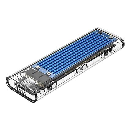 NVMe M.2 - Carcasa Transparente para Disco Duro Externo Intel 660p ...
