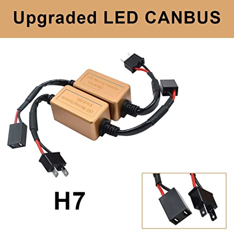 Amazon.com: Canbus Resistor - Adaptador de arnés de cableado ...