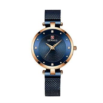Reloj Mujeres Moda Casual Impermeable Relojes De Cuarzo ...