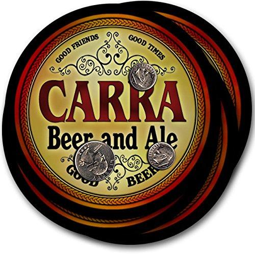 Carraビール& Ale – 4パックドリンクコースター   B003QXUCNS