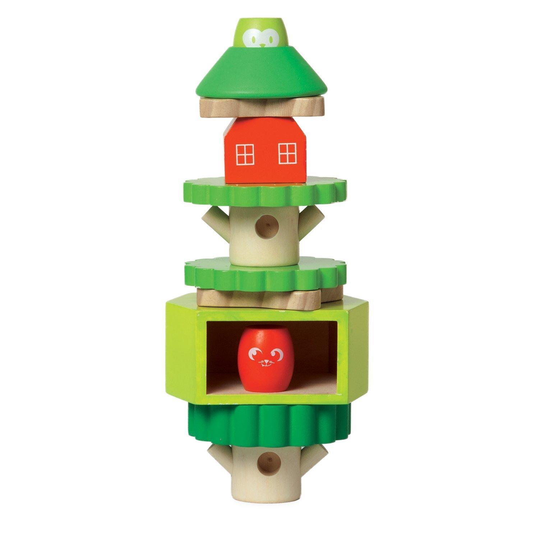 割引 Manhattan Toy Treehouse Wooden Stacker & Block Wooden Set [並行輸入品] Stacker & B074TG6LN8, ヘダムラ:559106f0 --- a0267596.xsph.ru