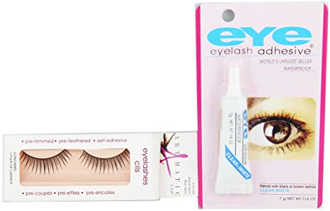 c10758e31d2 Buy False Eye Lashes With Eey Glue No=5 Online at Low Prices in India -  Amazon.in