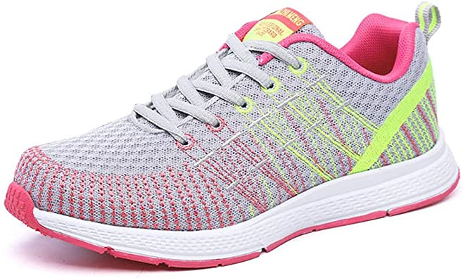 Zapatos de Mujer Zapatillas de Deporte de Verano Running Malla ...