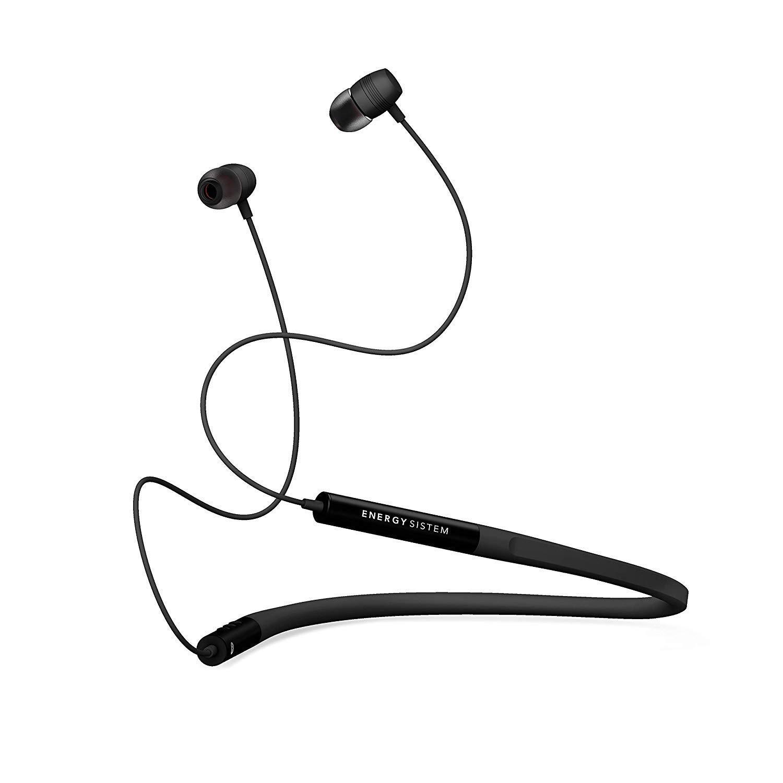 Energy Sistem Neckband 3 - Auriculares Bluetooth con Diseño ergonómico, Color Negro: Energy-Sistem: Amazon.es: Electrónica