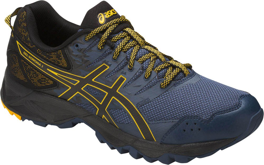 ASICS Men's Gel-Sonoma 3 Running Shoe B01MSJIEW5 12.5 D(M) US|Insignia Blue/Black/Gold Fusion