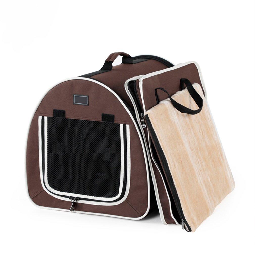 Pet Dog Carrier Handbag Out Carrying Bag Car Travel Bag Foldable Cat Backpack