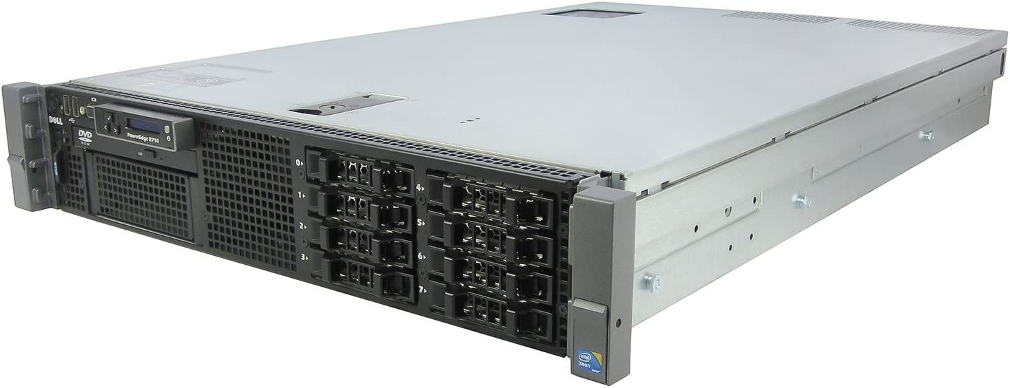 "Dell Poweredge R710 Server 2 x Xeon X5650 2.66GHz 72GB No 2.5"" HDD PERC6/i Dual P.S."
