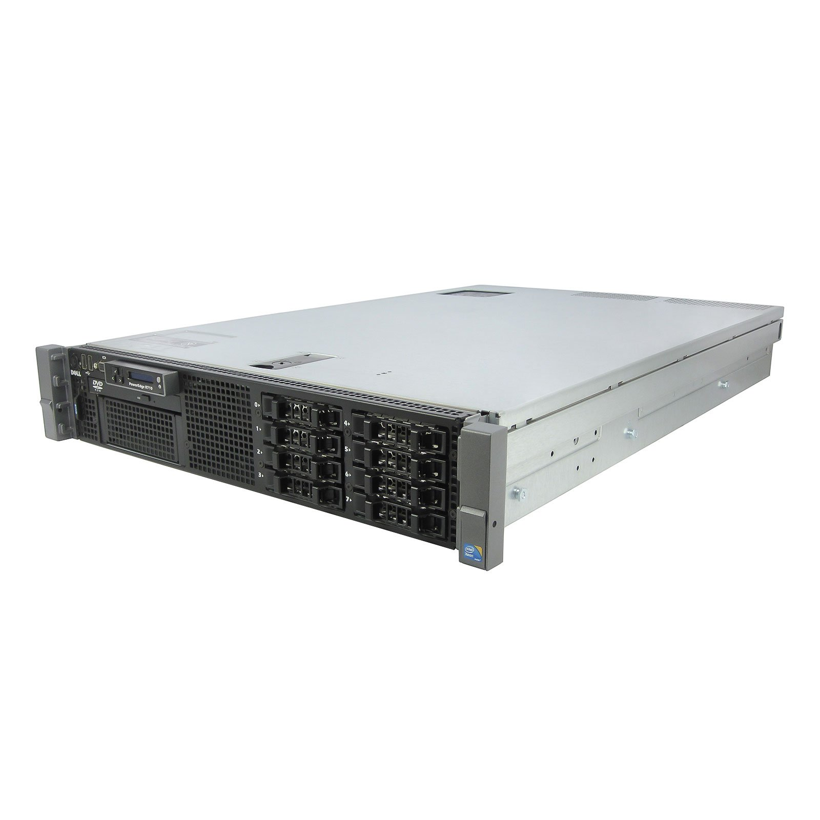 Energy-Efficient DELL PE R710 Server 2x 2.26Ghz L5520 QC 64GB 2x 300GB SSD (Certified Refurbished)