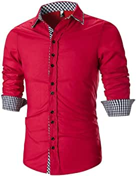 Blusa Suéter BBestseller Camisa Bambú Fibra Hombre, Manga Larga, Slim Fit, Camisa Elástica Casual/Formal para Hombre: Amazon.es: Ropa y accesorios