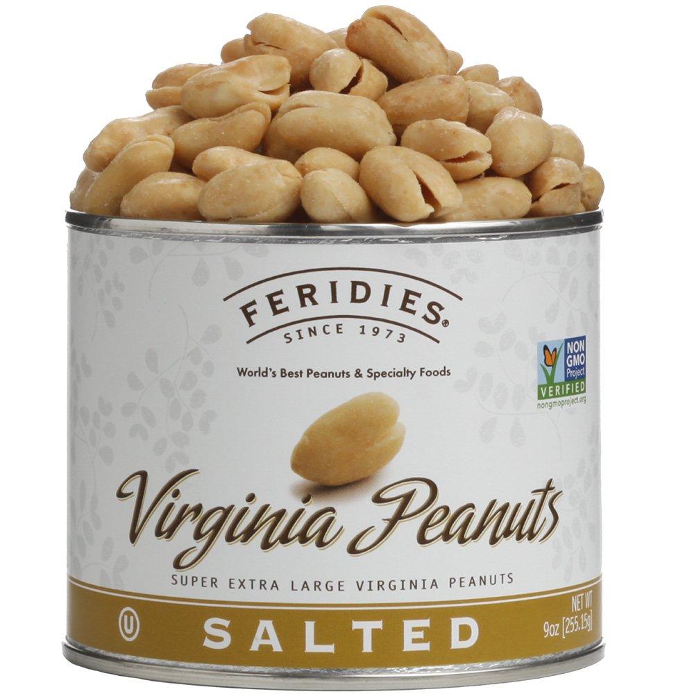 FERIDIES Salted Super Extra Large Virginia Peanuts (9oz) by FERIDIES