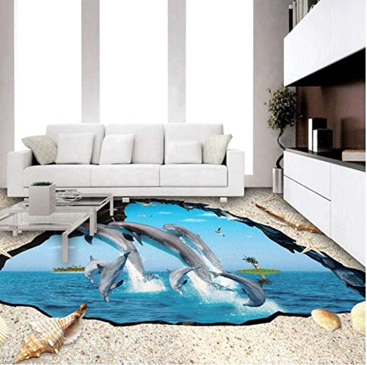 Amazon Com Pbldb Custom 3d Large Floor Wallpaper 3d Wall Covering