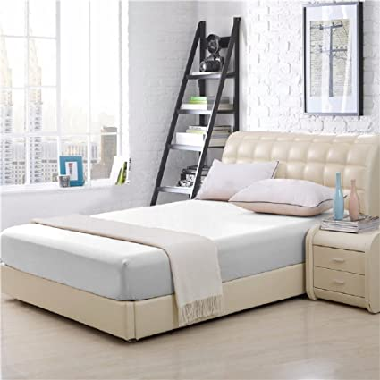 Amazoncom Elaine Karen 100 Cotton Fitted Bed Sheet Queen Size