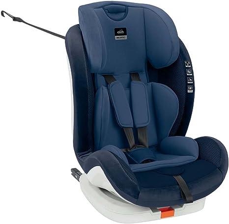 CAM Il mondo del bambino, Silla de coche grupo 1/2/3 Isofix, azul: Amazon.es: Bebé