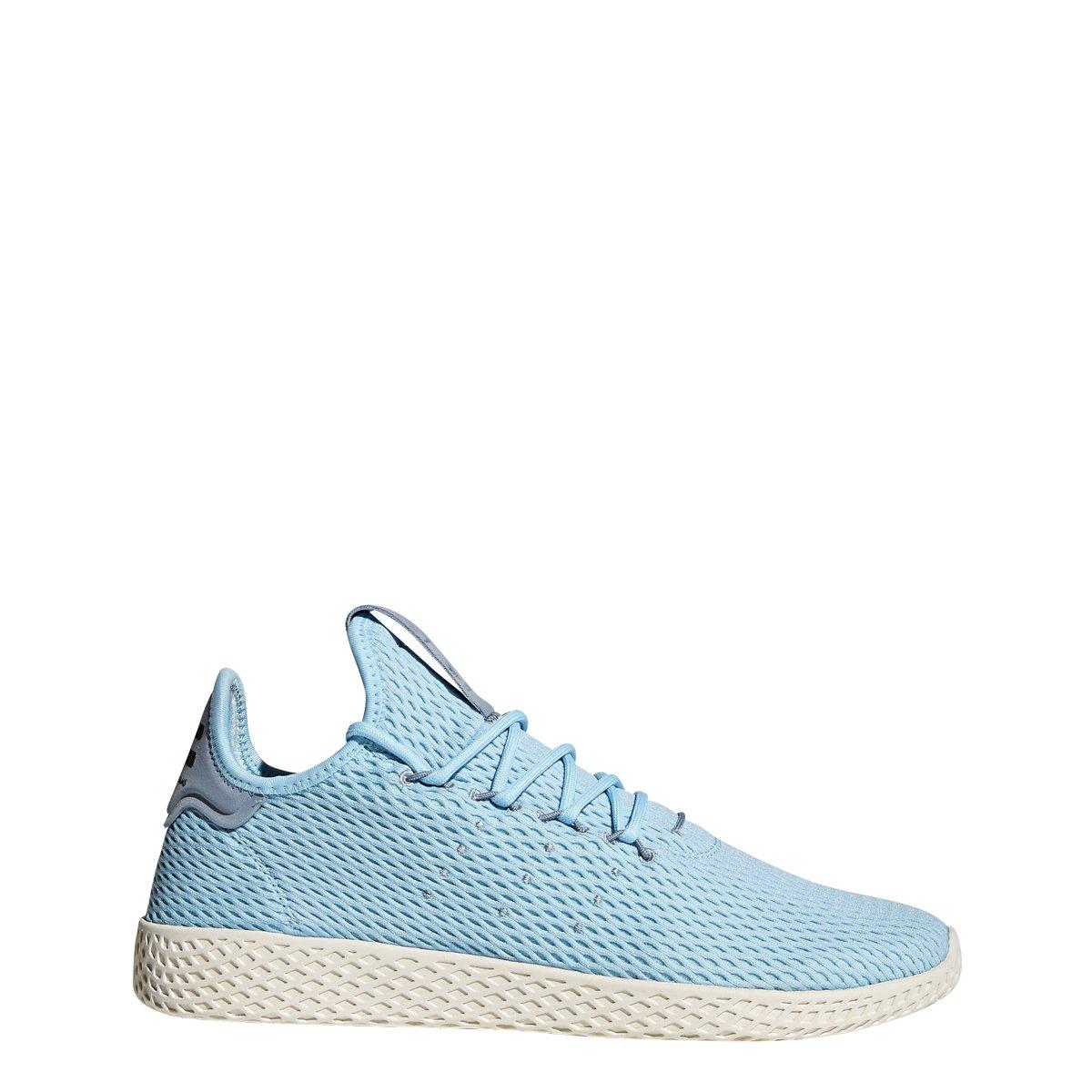 adidas Men's Pw Tennis Hu Sneaker B075ZZGVQ4 5.5 D(M) US|Ice Blue/Ice Blue/Blue
