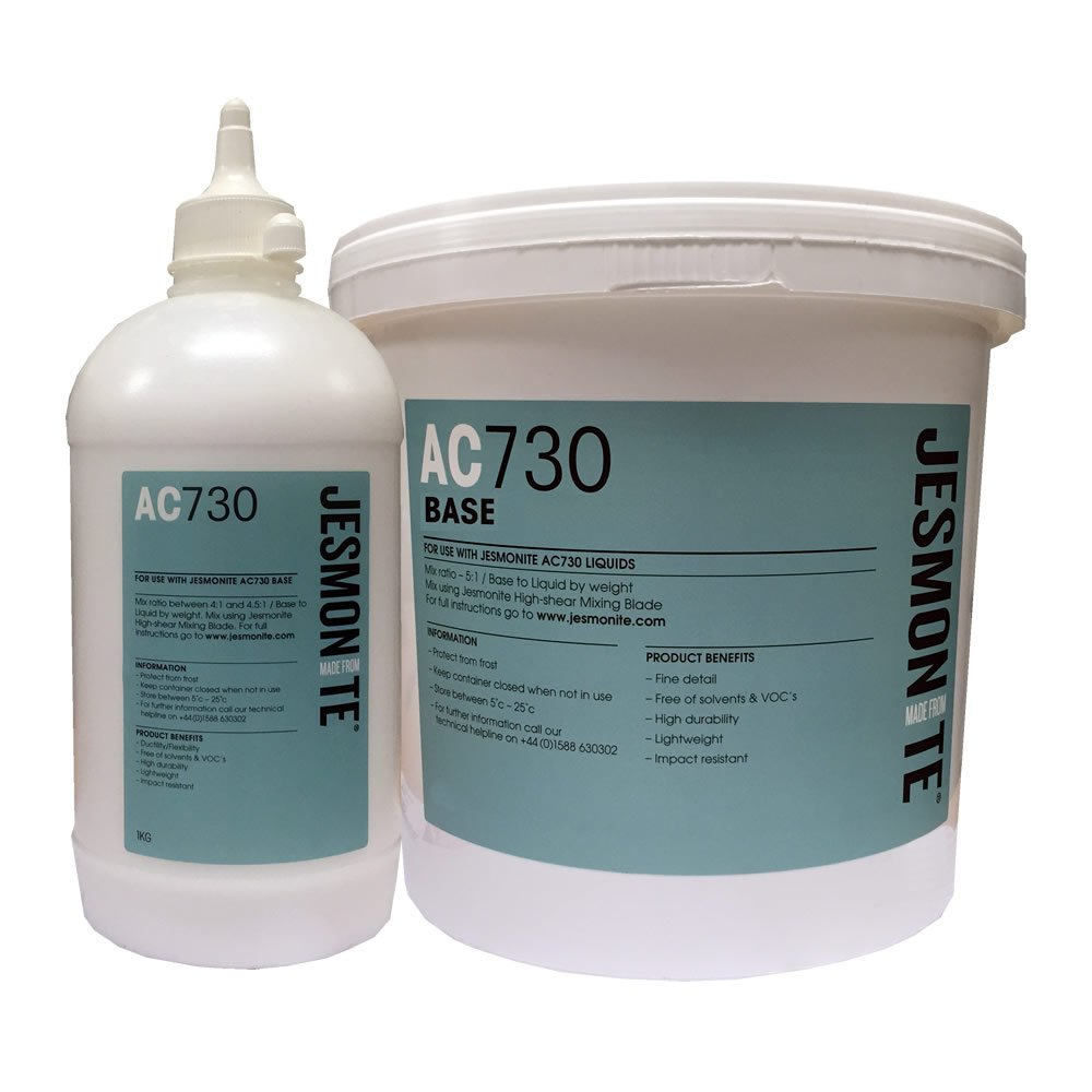 Jesmonite AC730 White Marble Water Based Casting Resin Kit - 6kg