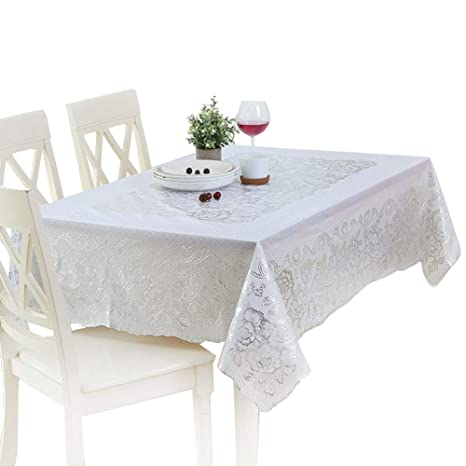 Amazon Com Kabake Pvc Waterproof Oil Resistant Dining Tablecloth