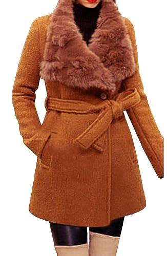 Scothen Mujeres Abrigo de invierno Chaqueta acolchada Chaqueta con capucha Transit Jacket Gabardina ...