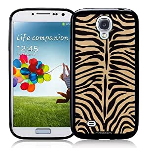 Cool Painting Ivory ; Black - Protective Designer BLACK Case - Fits Samsung Galaxy S4 i9500