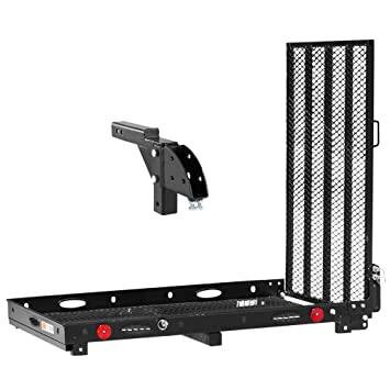 Amazon.com: Plata Primavera 400 Lb Hitch Scooter Carrier con ...