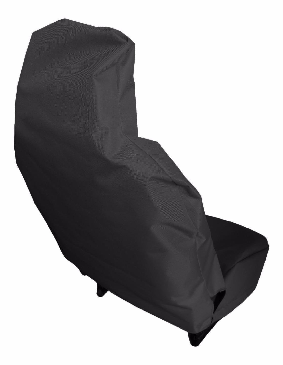 Heavy Duty Black Waterproof Car Seat Covers//Protectors 2011- 2 x Fronts Jazz