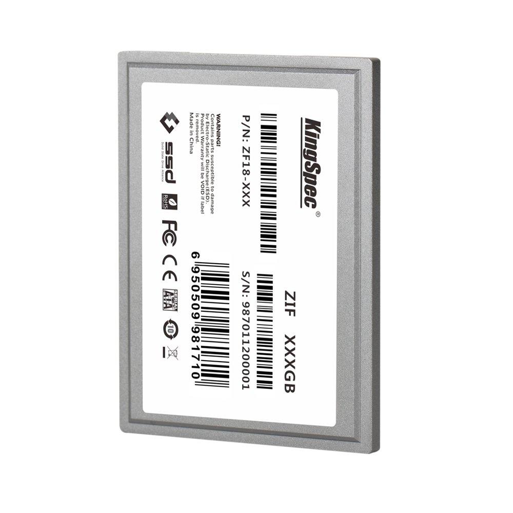 KingSpec - Disco Duro SSD de 1,8 Pulgadas ZIF CE 40Pin MLC Disco ...