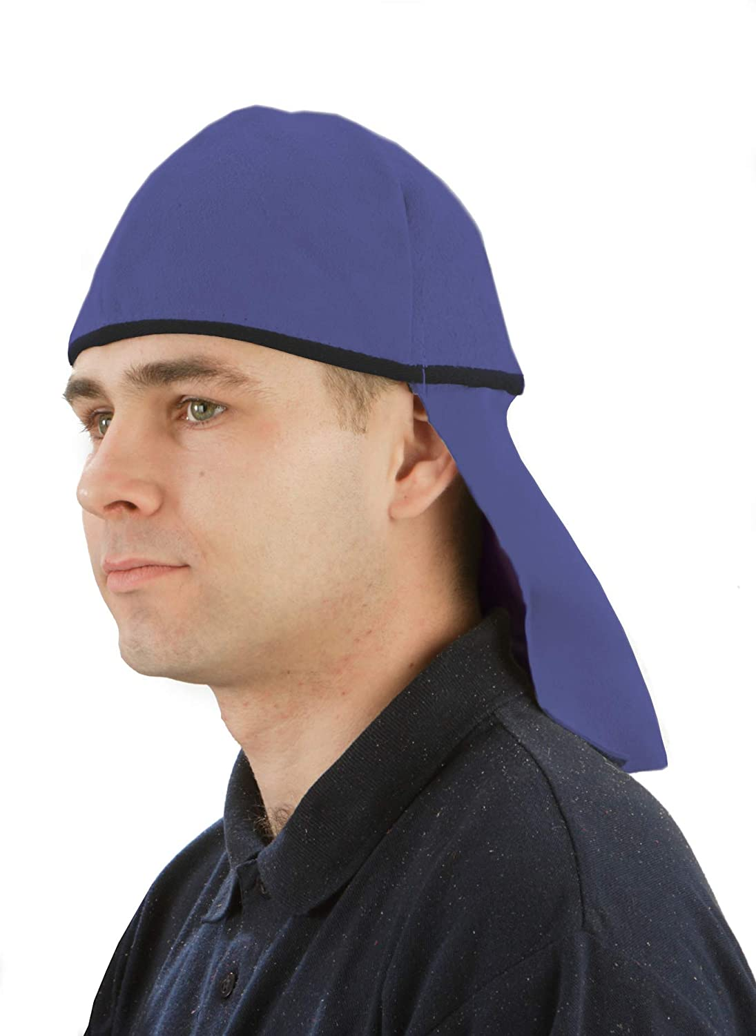 Heavy Duty TUSKER INDUSTRIAL SAFETY Leather Skullcap with Back Flap Fire Retardant