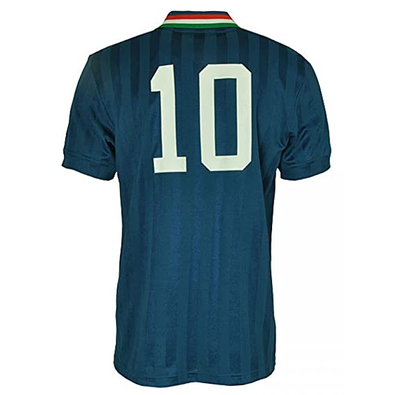 Adidas - Camiseta de fútbol para hombre de Italia Retro Top f77314 Tribu Azul XS, S, M, L, XL.: Amazon.es: Ropa y accesorios