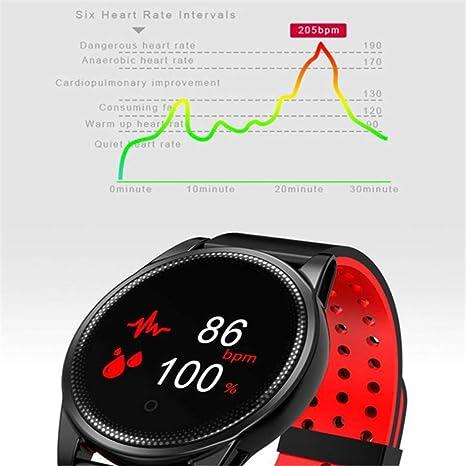 YA Reloj Inteligente para Hombres con Monitor de Ritmo cardíaco ...