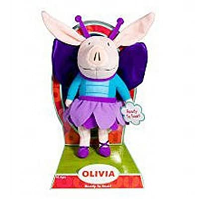 Olivia *Ready to Soar* in Fairy Outfit Plush: Toys & Games [5Bkhe1403847]