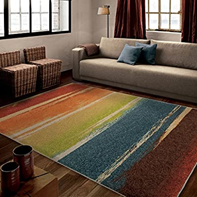 Orian Rugs Striped Magnificent Multi Rug