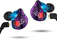 KZ ZST Pro Dynamic Hybrid Dual Driver In-Ear Headphones (Color without Mic)