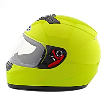 Motocicleta Motor Bike Scooter seguridad casco 168 fluorescente ...