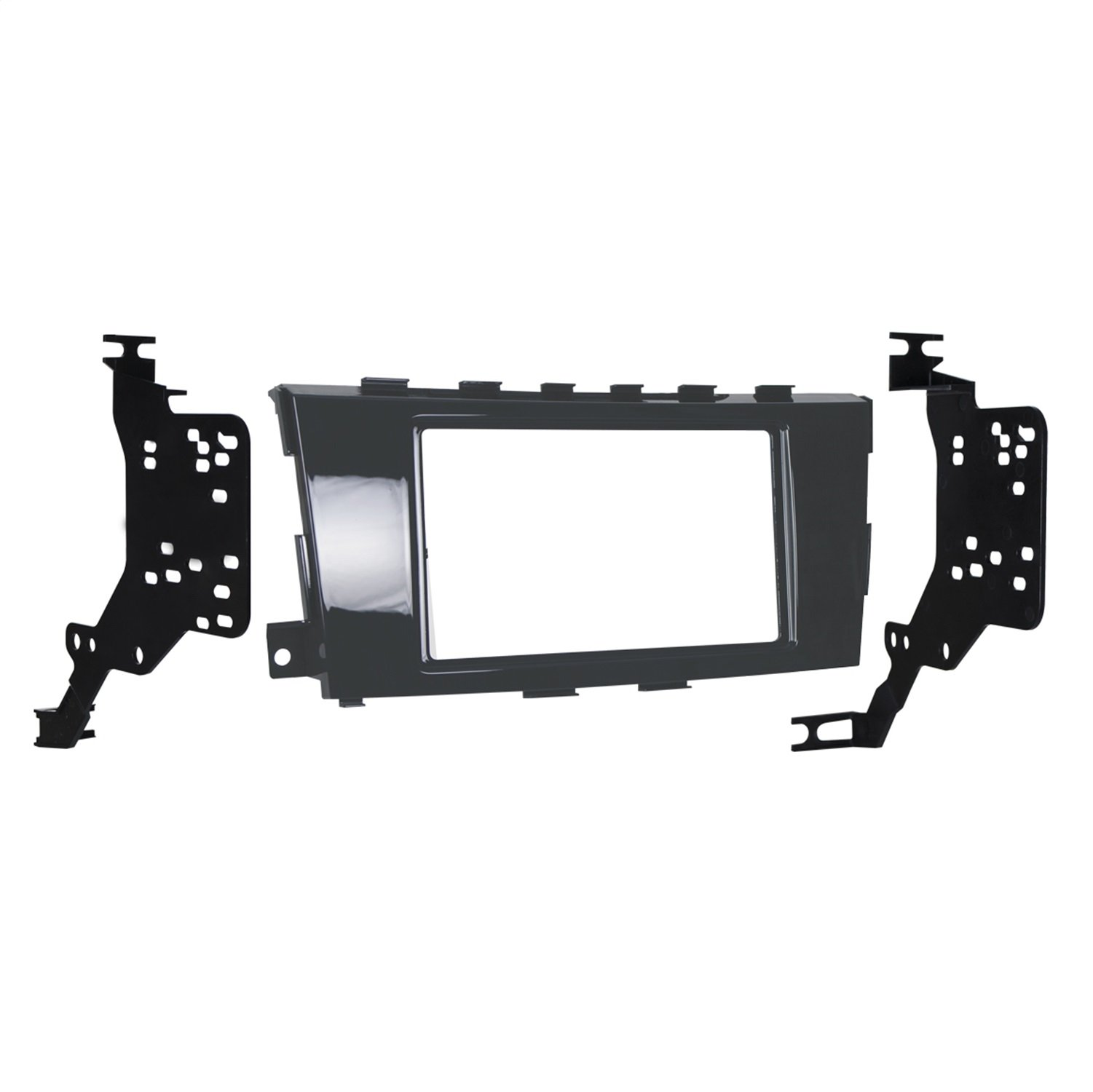 Metra 95-7617GHG Double DIN Dash Kit for Select 2013-Up Nissan Altima Vehicles Black