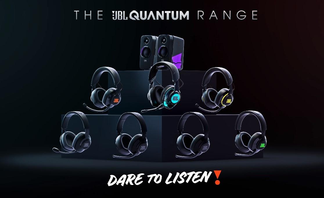 JBL Quantum 100 - Wired Over-Ear Gaming Headphones - Black