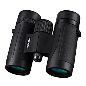 Wingspan Optics FieldView 8X32 Compact Binoculars for Bird Watching