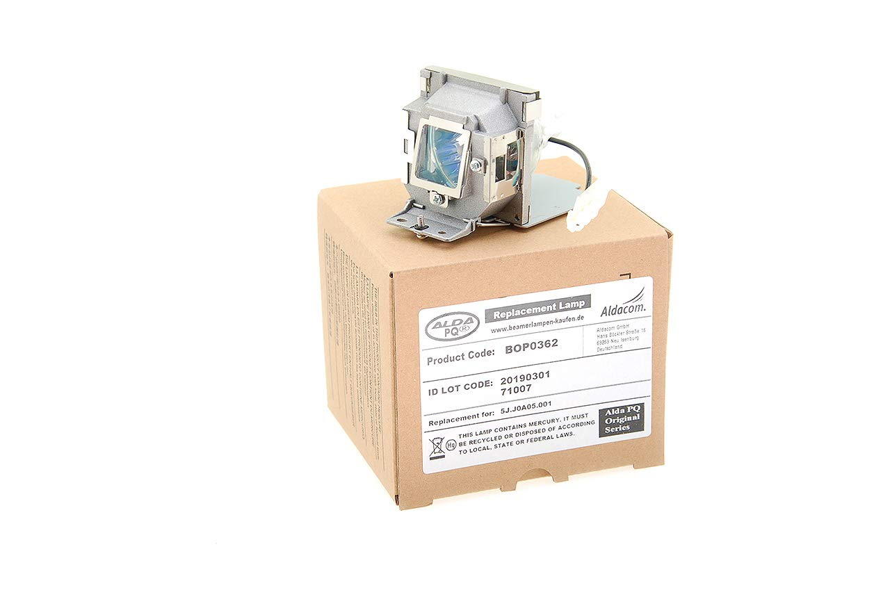 Alda PQ® - Originales lámpara de proyector/Repuesto 5J.J0A05.001 ...