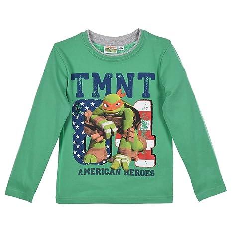 Camiseta Tortugas Ninja niño niño Sun City 3/8 anni ...