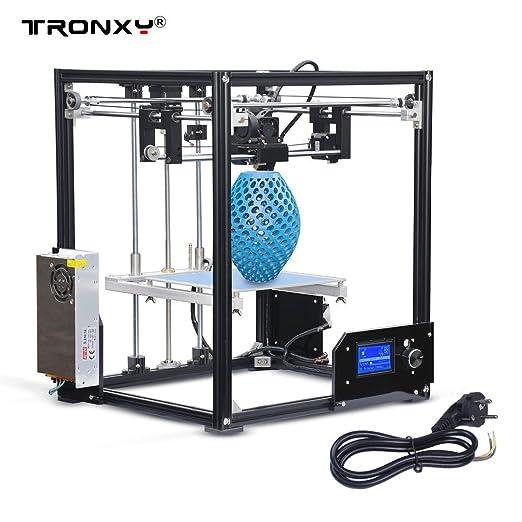 tronxy X5 Impresora 3d Kit DIY aluminio con pantalla LCD alta precisión 3d printer grandes Impresión Tamaño 210 * 210 * 280 mm: Amazon.es: Industria, ...