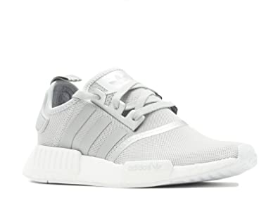 adidas Womens NMD_R1 Silver/White - S76004 (Size 6)