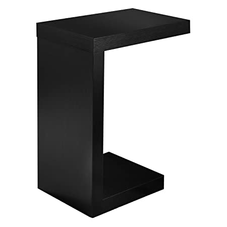 Monarch Specialties Black Hollow-Core Accent Table