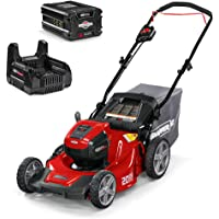 Snapper HD 48V MAX Electric Cordless Lawnmower Kit with 5.0 Battery & Charger