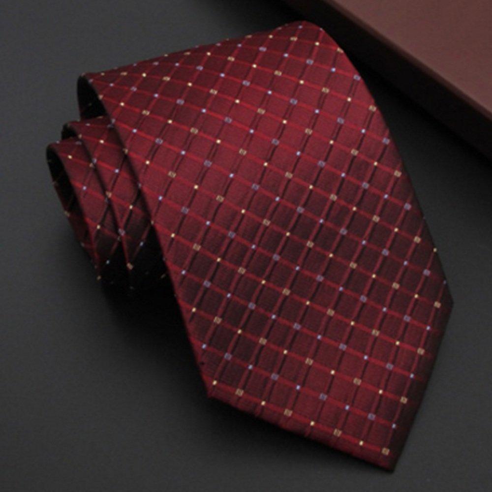 CuteLife Corbata Clásica para Hombre Corbata de Seda para Hombres ...