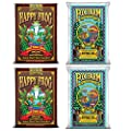 FoxFarm Ocean Forest Garden Soil Mix (2 Bags) + Happy Frog Pot Soil Mix (2 Bags)