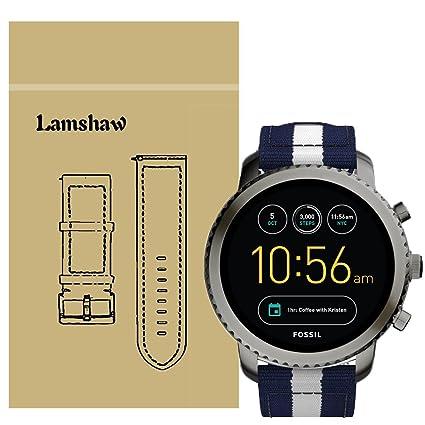 Amazon.com: Lamshaw - Correa de repuesto para reloj ...