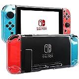 Nintendo switch カバー 専用カバー Joy-Conカバー 保護ケース キズ防止 衝撃吸収 着脱簡単 PCクリア コントローラー用 (シリコン) …