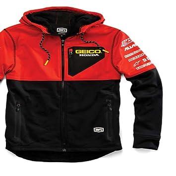 Amazon.es: Equipo Geico Honda técnica con capucha softshell Chaqueta Color Negro Tamaño Mediano 100%/39901 - 001 - 11