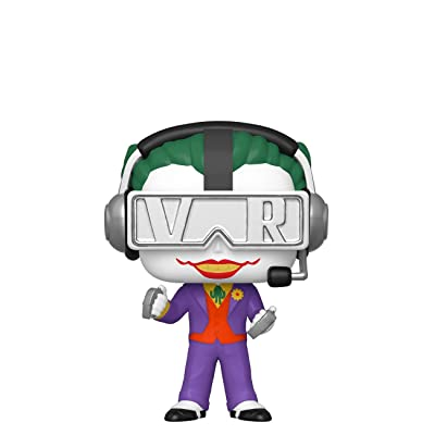 Funko Pop! DC Batman VR Gamer Joker Chase Exclusive Figure: Toys & Games