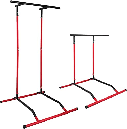 Popsport 330LBS Pull Up Dip Station Power Tower Station Multi-Station Power Tower Workout Pull Up Station