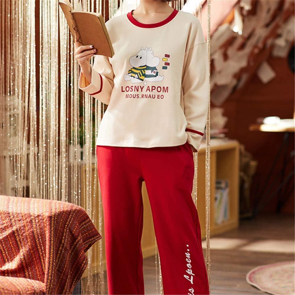 DUXIAODU Pijama de algodón para Mujer | Suave y cómodo | Elegante y Simple,Linda Bata de algodón A-1 M: Amazon.es: Hogar